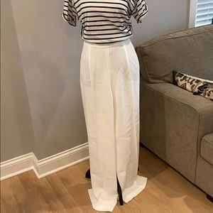 Zara Basic collection Wide-leg Trousers